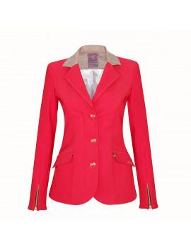 Veste femme Meredith rouge standard ou sur-mesure