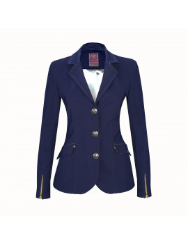 Meredith - Ladies Competition Jacket - Navy Blue / colar navy blue - Regular or bespoke